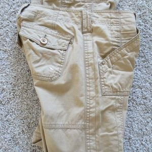 Abercrombie & Fitch Tan Brown Khaki Cargo Pants